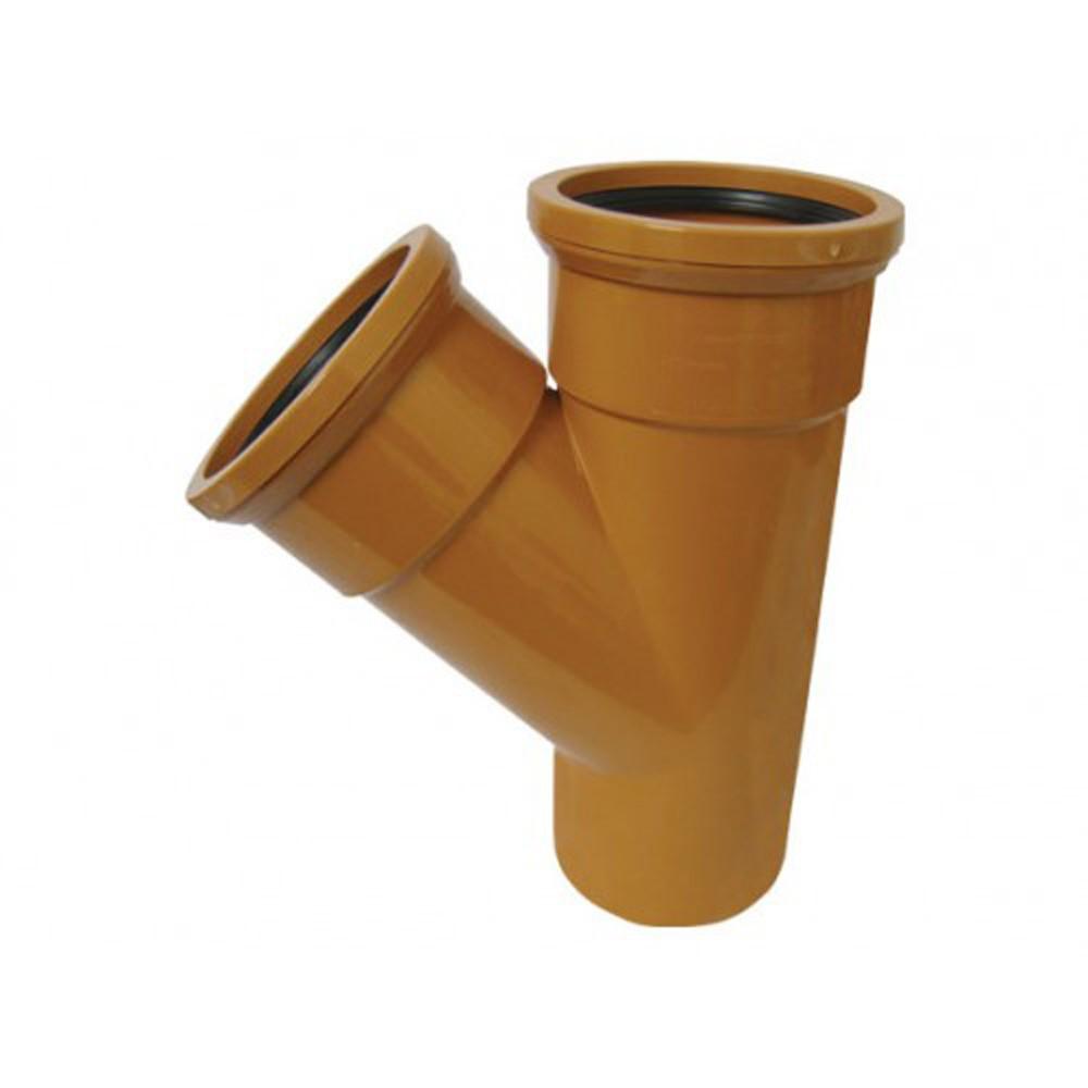 110mm-x-45-deg-underground-double-socket-junction-ref-110-110-d45