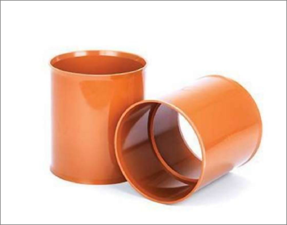 300mm POLYSEWER PIPE SLIP COUPLER REF PS1200  c/w 2 x Seals