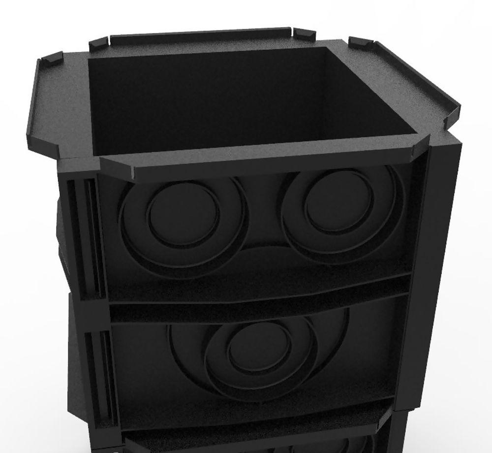 450x450 duct box easyliner 150mm deep