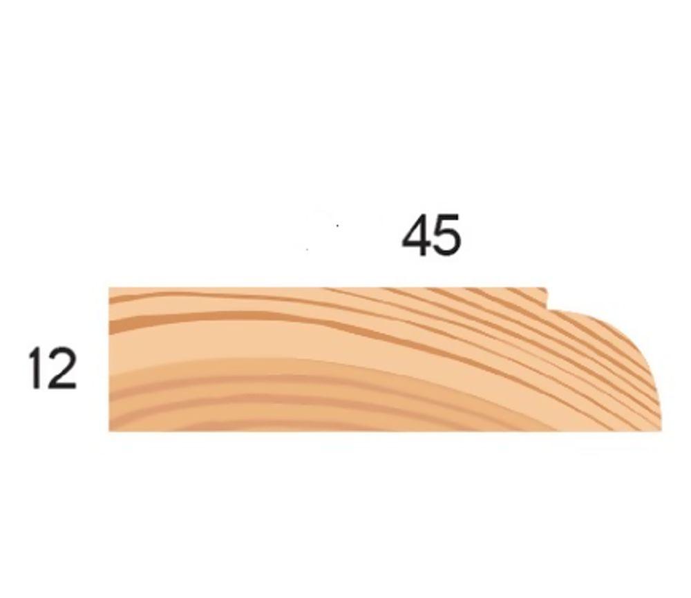 Redwood 16X50mm Doorstop [p]