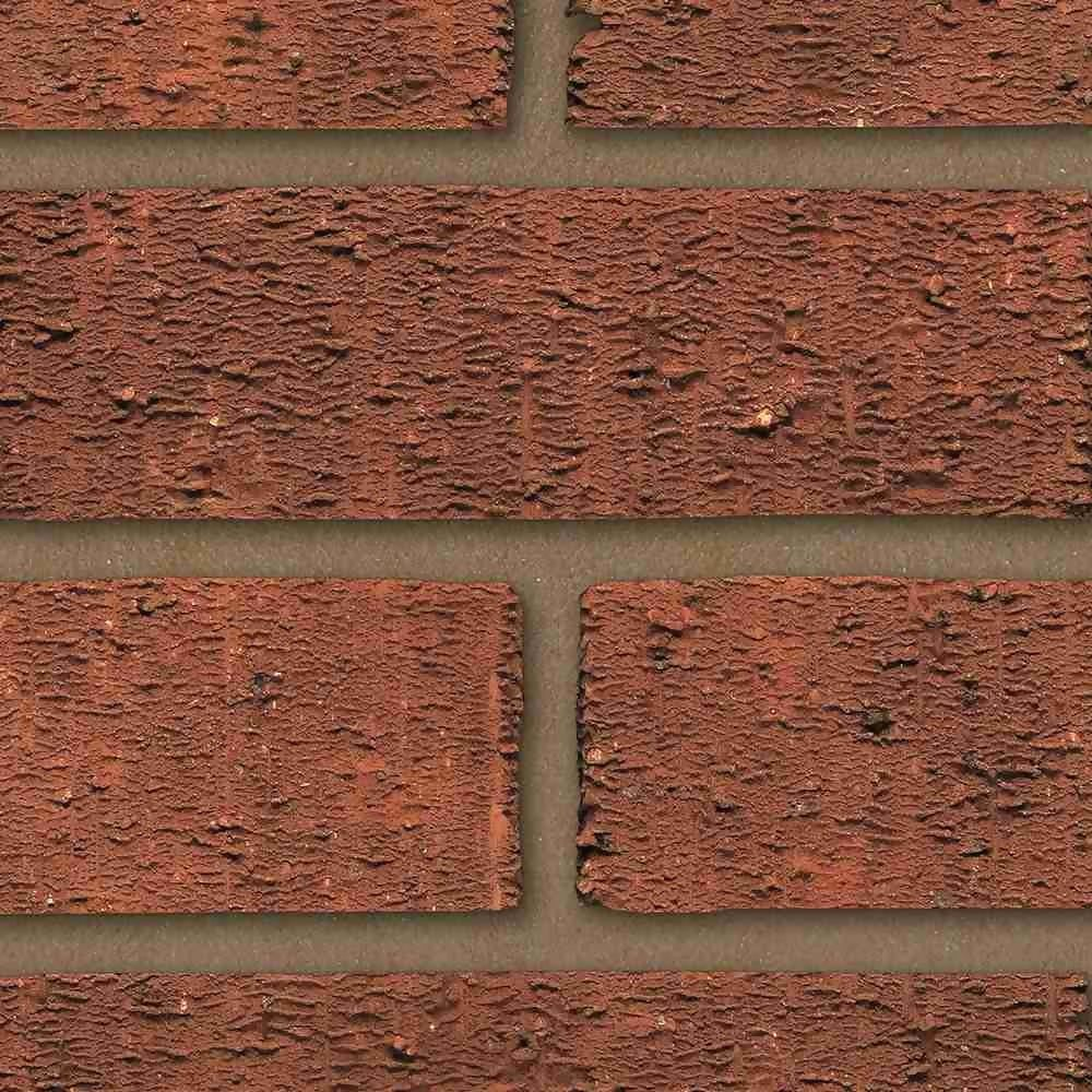 73mm Anglian Red Rustic Brick Pack 292