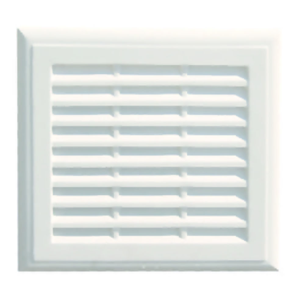 Plaster Vent 230 x 225mm With Flyscreen Ref PL99F