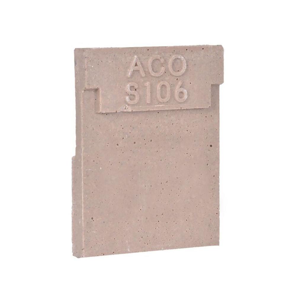 Aco Heavy Duty S106 Closing Endcap Ref 411