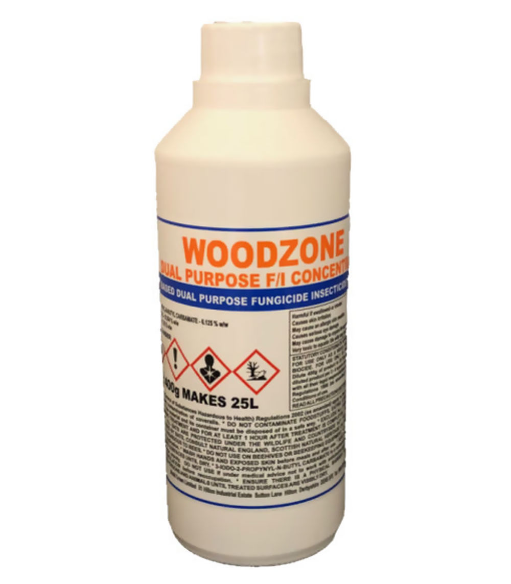 Biokil Woodzone Dual Purpose F-I Timber Treatment  400gm Ref WZ002