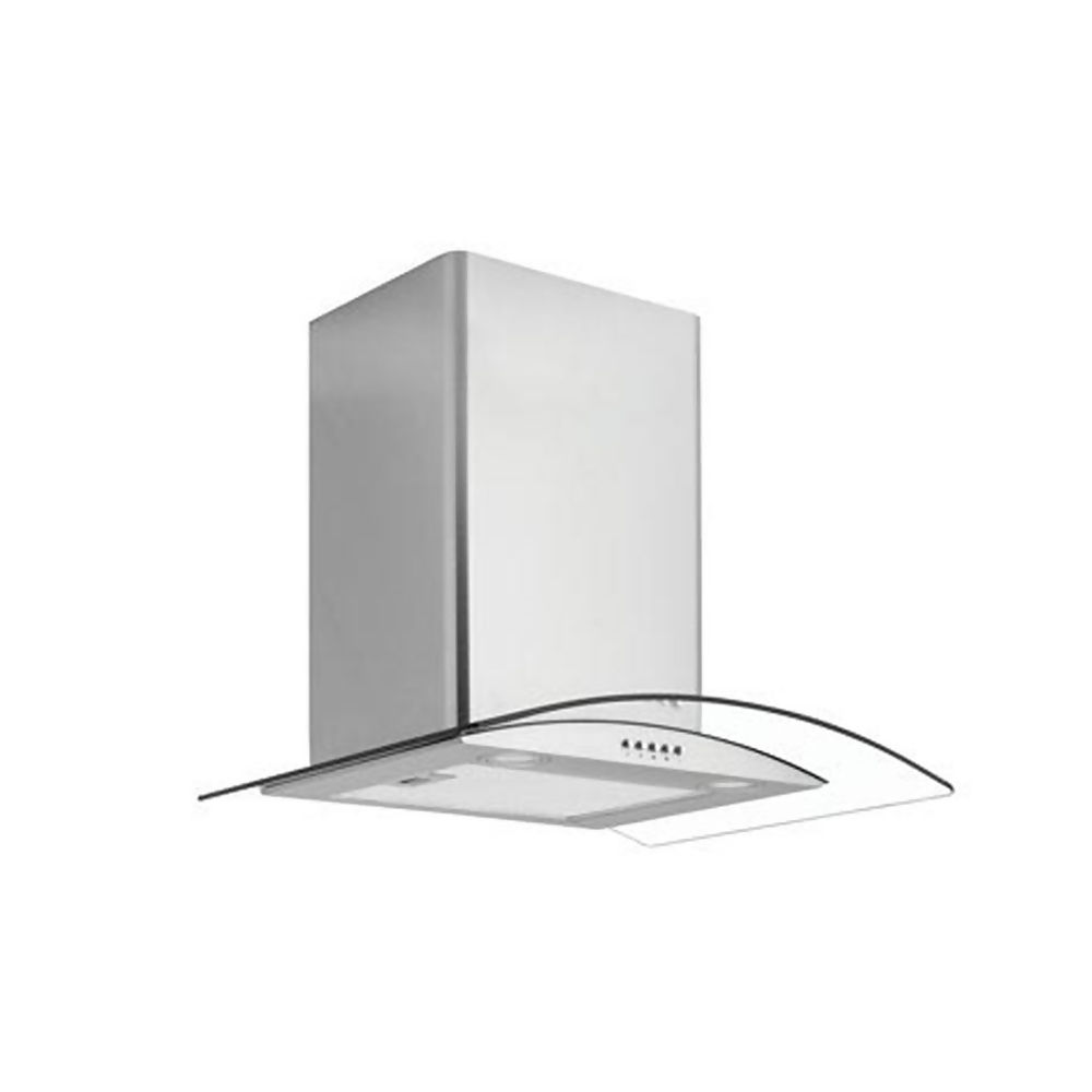Caple 60cm Curved Glass Extractor Hood Stainless Steel