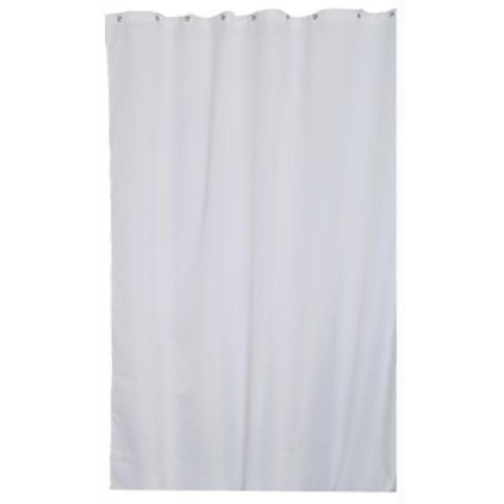 Croydex Shower Curtain White 1800 x 1800mm Ref GP00801