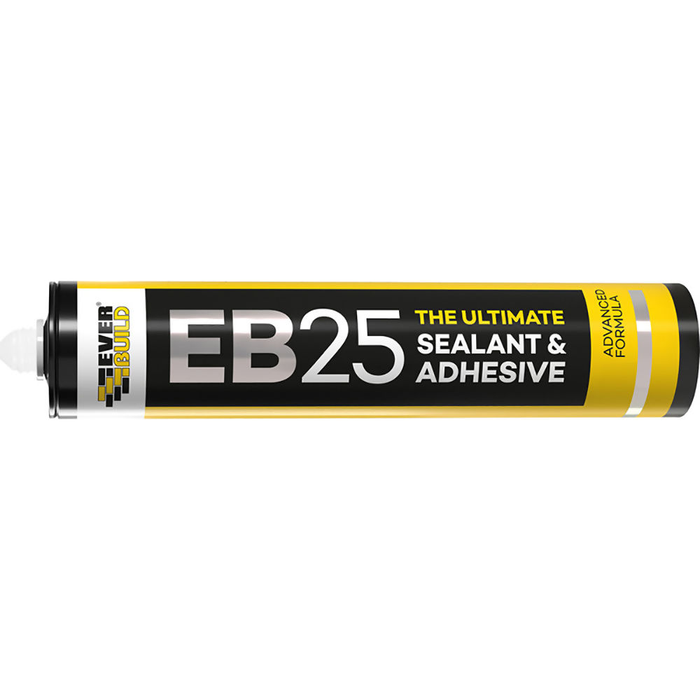 Everbuild EB25 The Ultimate Sealant And Adnesive Crystal Clear Ref