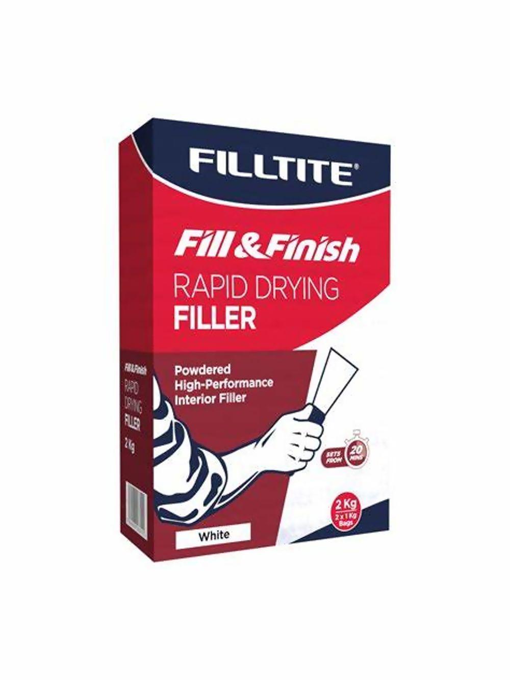 Filltite Fill & Finish Rapid-Drying Filler Ref F18355
