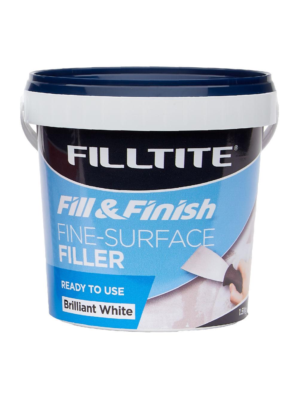 Filltite Fill & Finish Ready Mixed Fine-Surface Filler Ref F18368