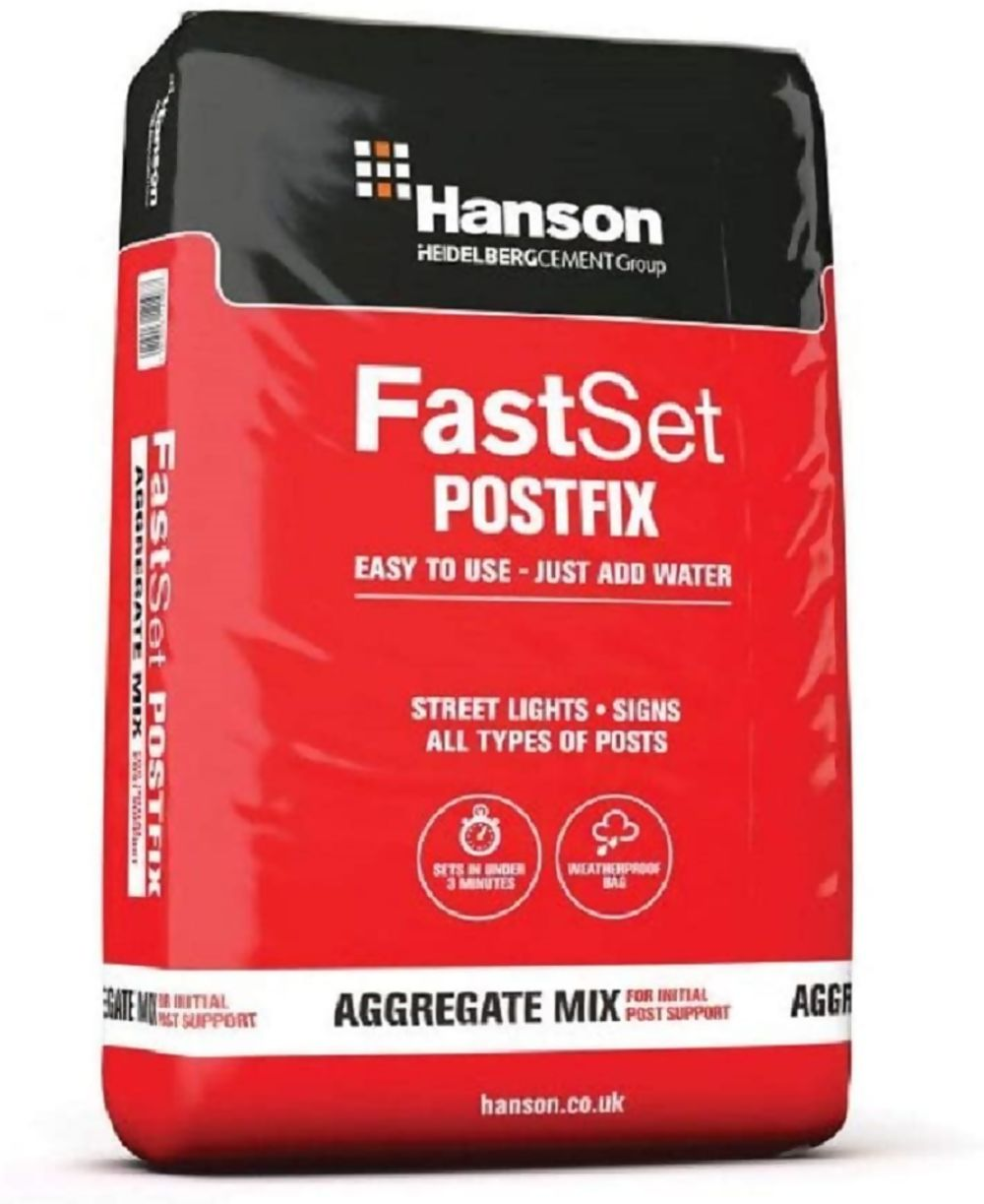 Fast Set Post Mix Dry 20Kg Bag Ref HSFS20P