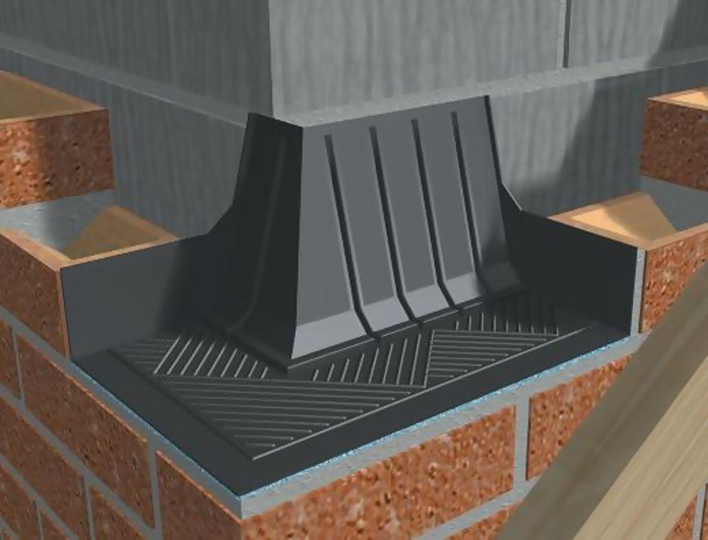 Brickwork Corner Catchment Cavity Tray Left Hand Ref GW293CCLH