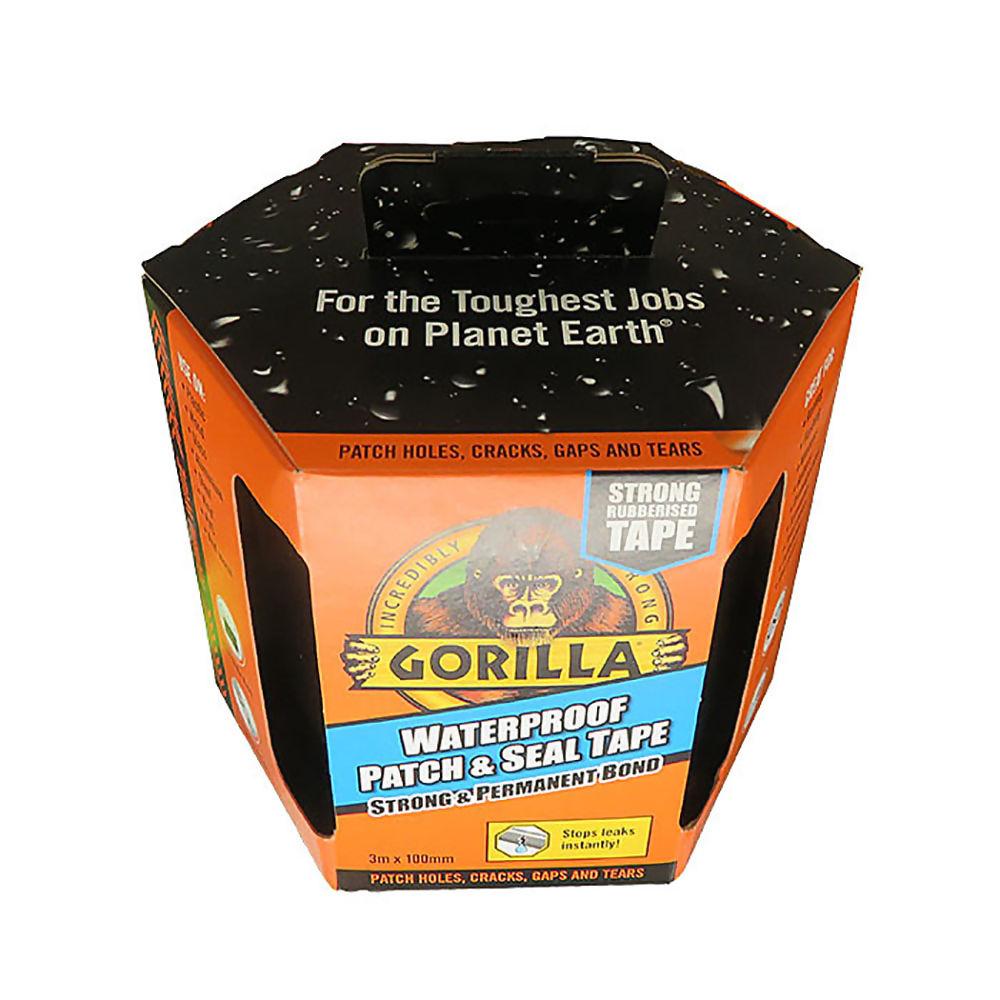 Gorilla Tape Waterproof & Seal 3mtr Roll Ref 3044721