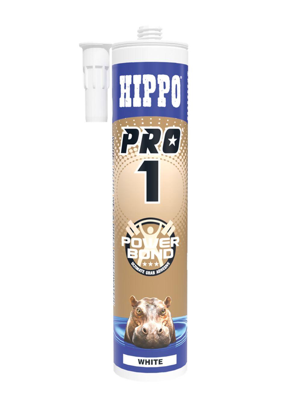 Hippo Pro 1 Power Bond Ultimate Grab Adhesive 310ml Ref H18508