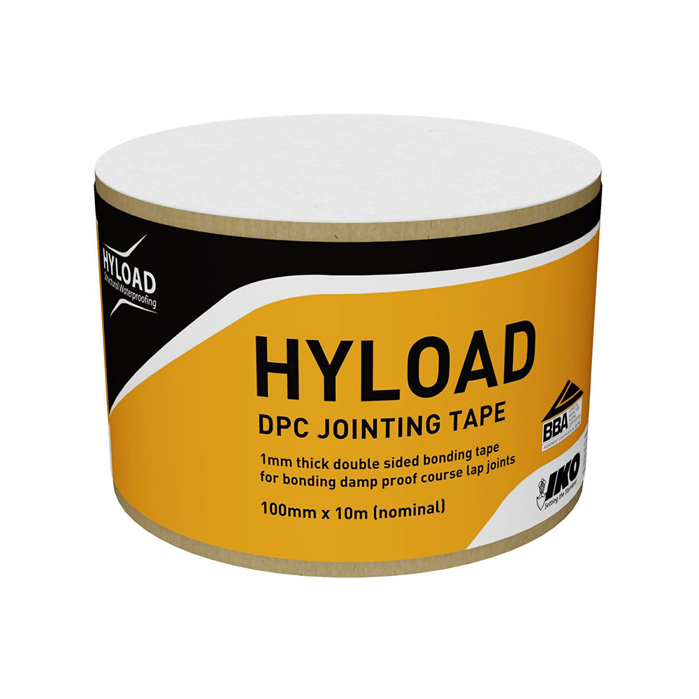 HYLOAD DPC JOINTING TAPE 100MM X 10M    REF 29510000