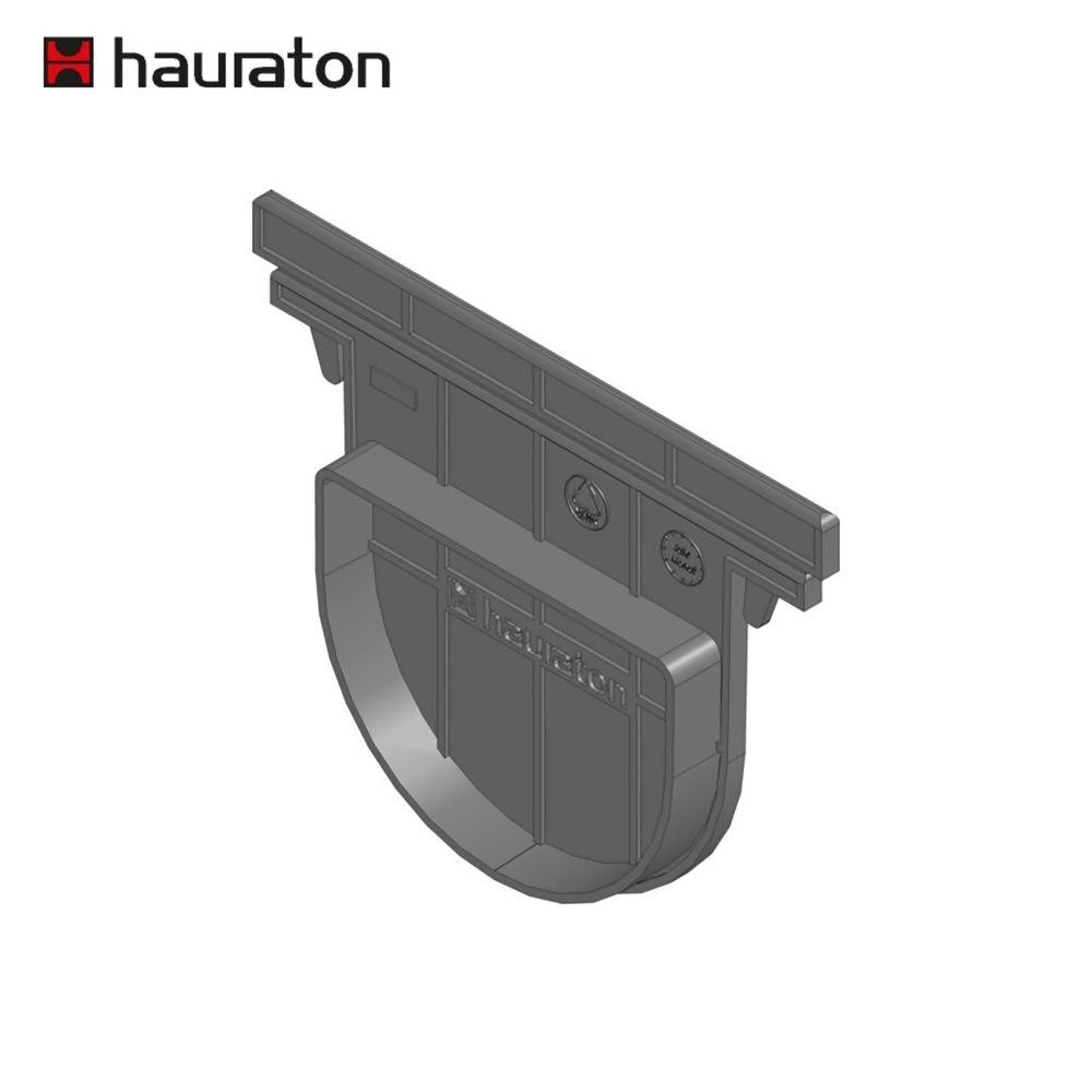 Hauraton Recyfix NC100 Channel Drain End Cap Ref 48681