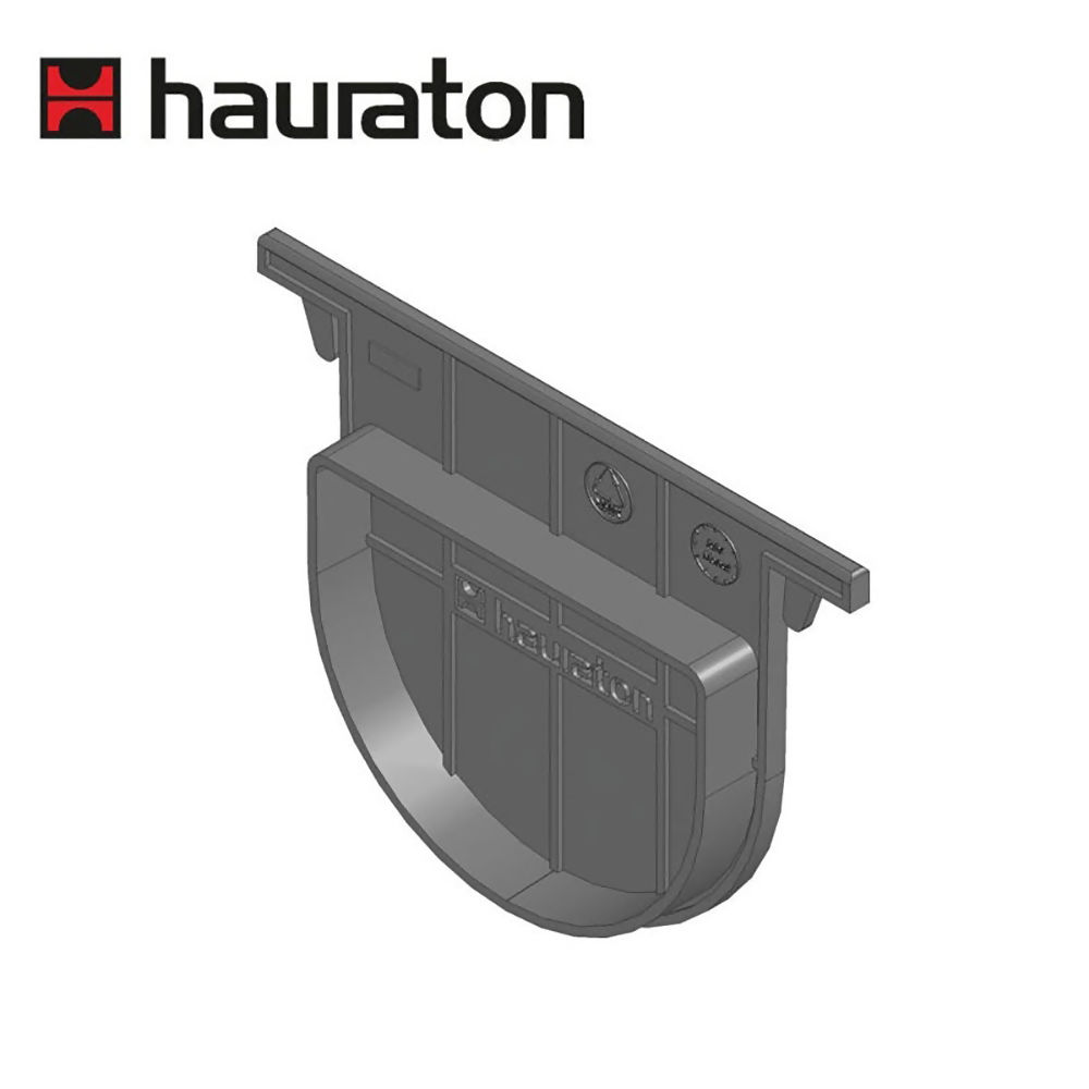 Hauraton Recyfix Plus 100 Channel Drain End Cap Ref 40281