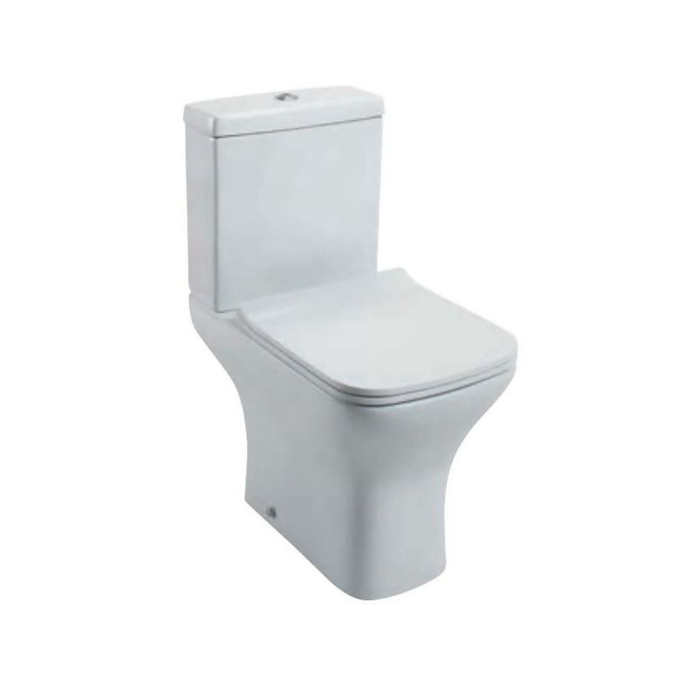 Porto WC Pan/Cistern and Wrap Over Toilet Seat