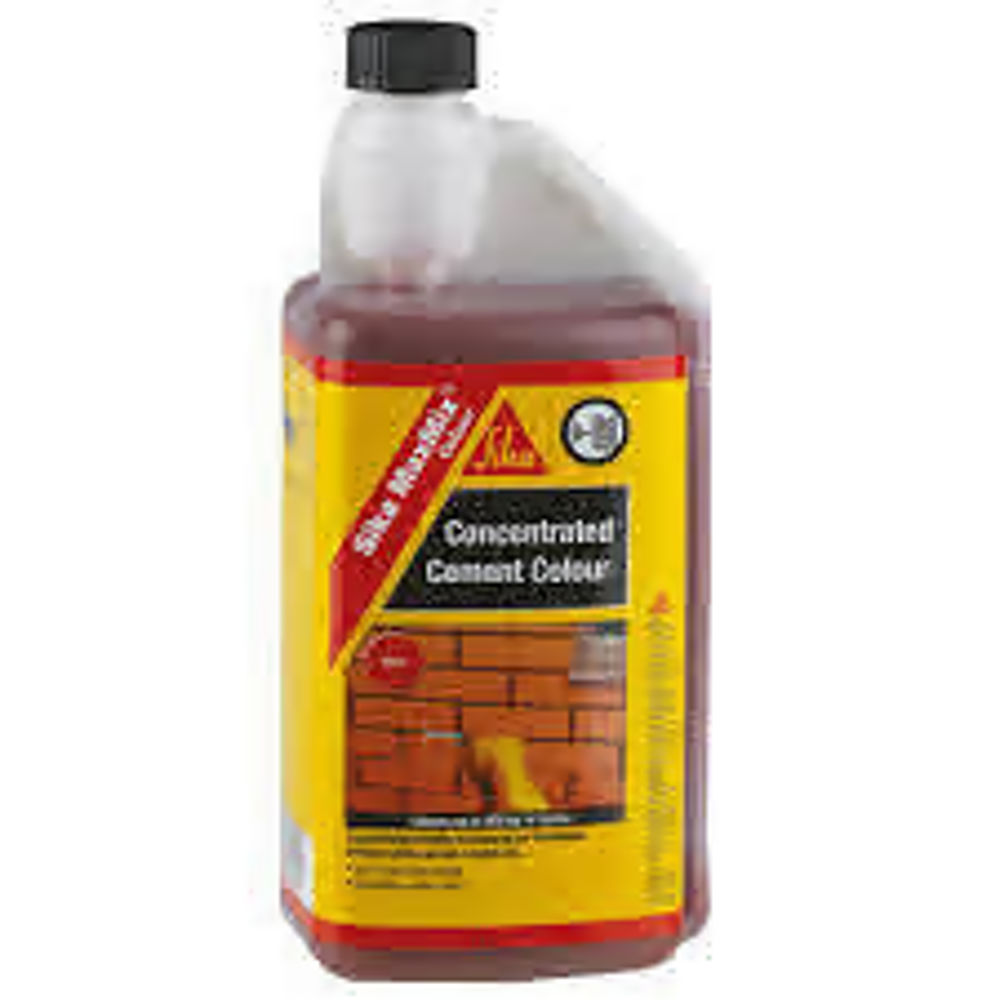 Sika Concentrated MaxMix Red Dye 1LTR Ref SKMAXMCOLRD1