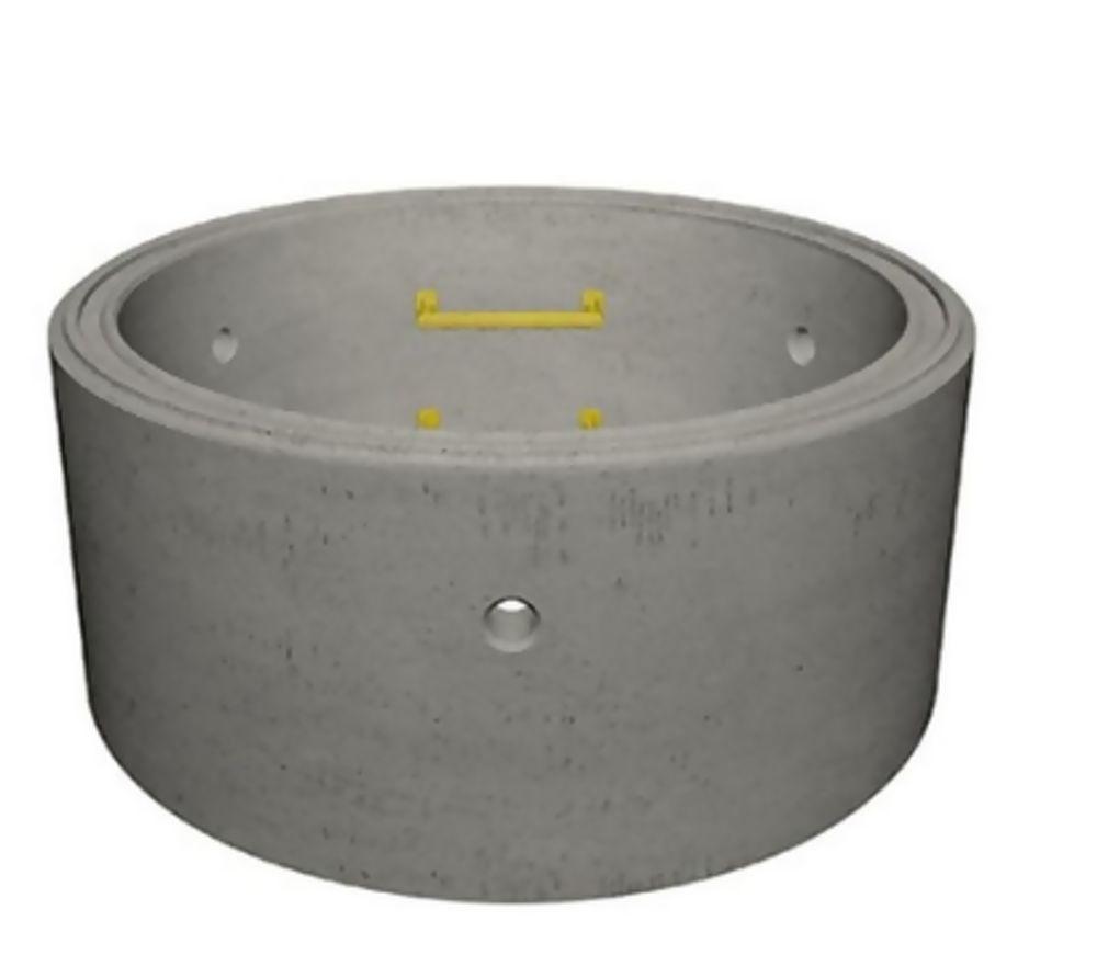 Concrete Manhole Ring 1050mm dia x 1000mm Deep c/w 4no Double Steps