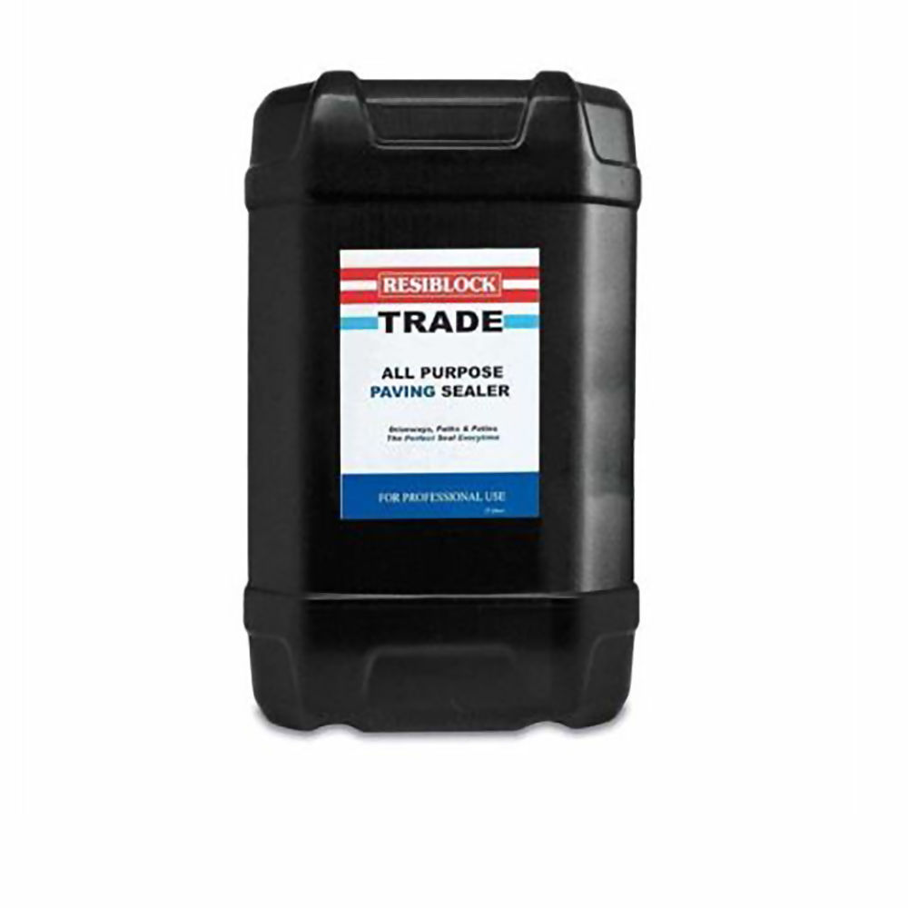 Resiblock Trade Clear Paving Sealer Clear 25Ltr Ref RBTRAD25