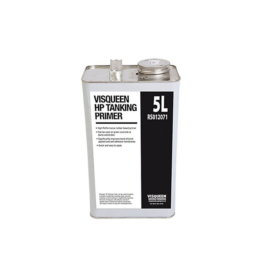 VISQUEEN 5 LTR CAN H/P BITUMEN PRIMER  REF RS012071