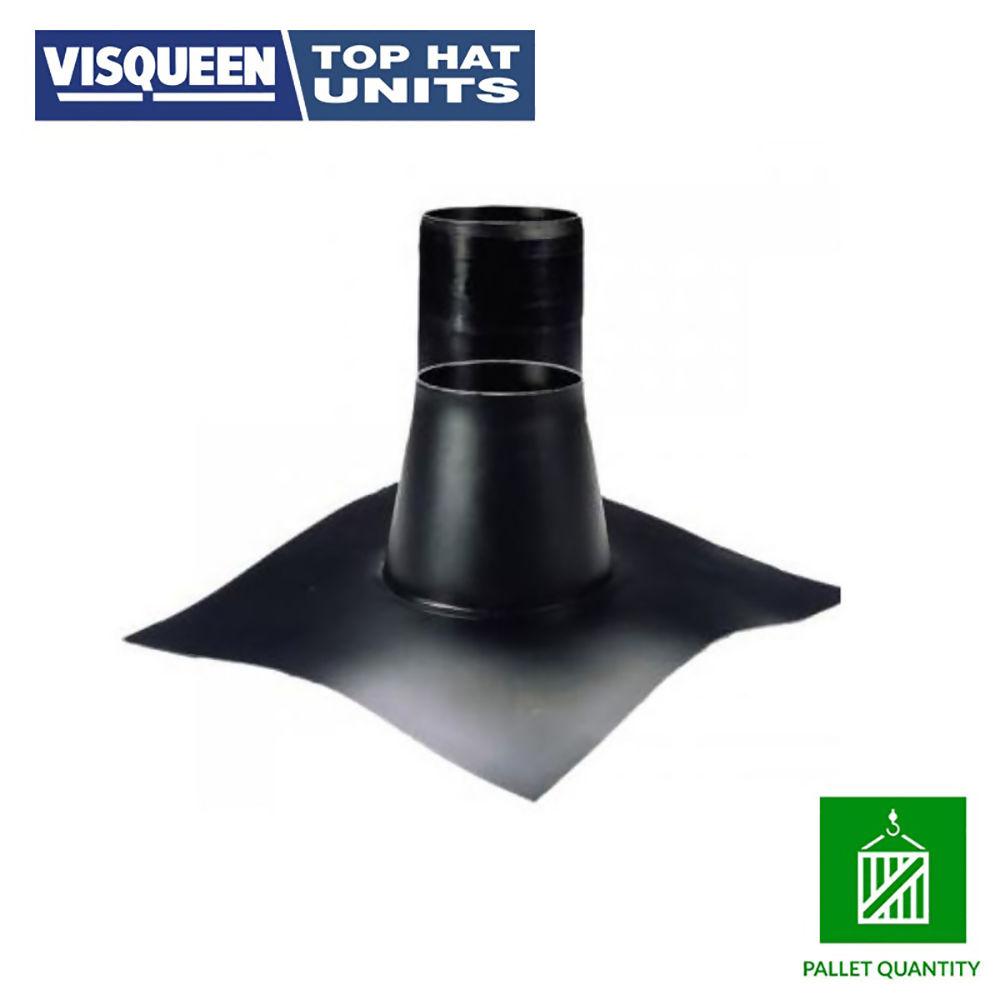 VISQUEEN GAS RESIS. 110mm TOP HAT RIGID INC.CLIP  REF RS000369