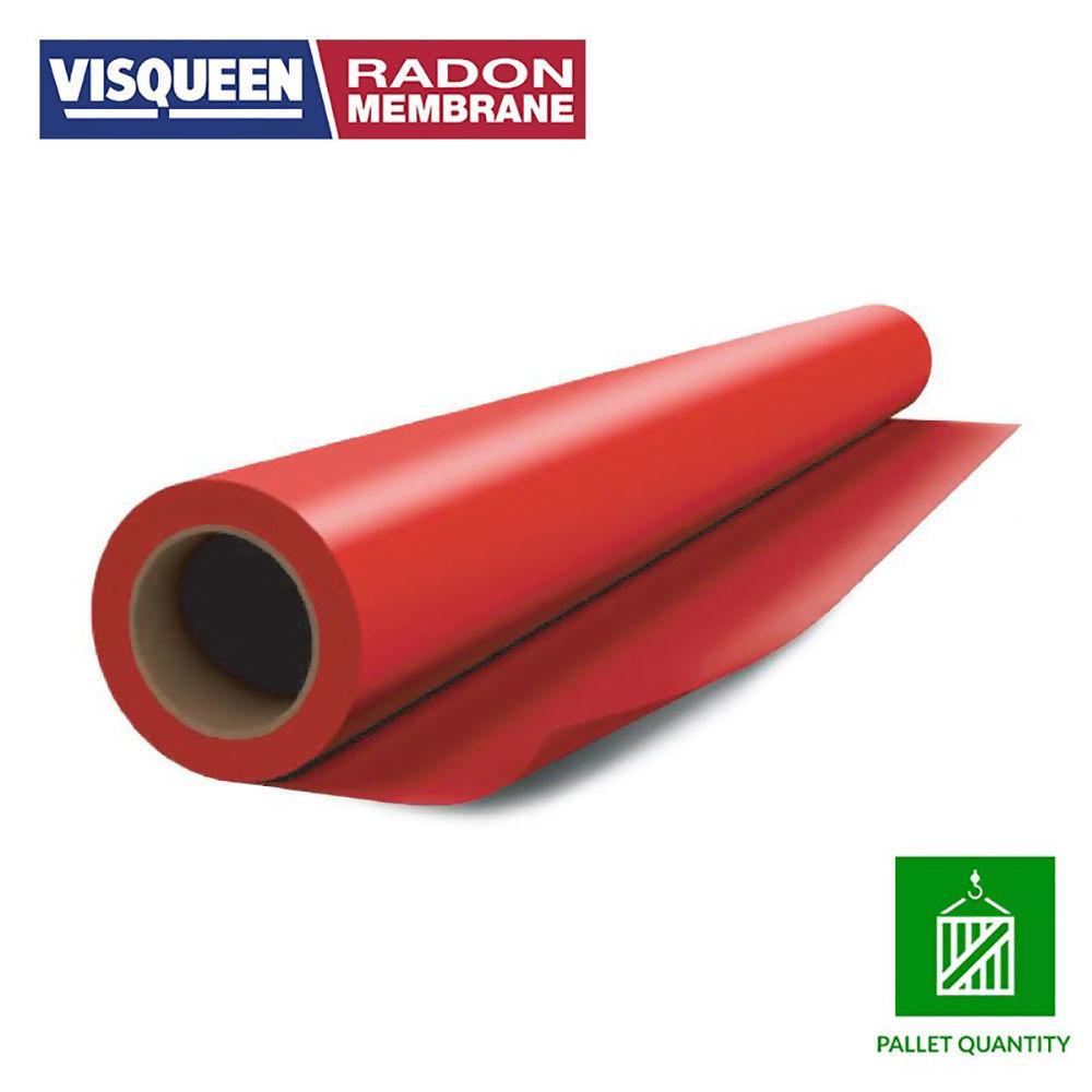 VISQUEEN RADON GAS BARRIER 4X25MTR- RED  REF RS058896