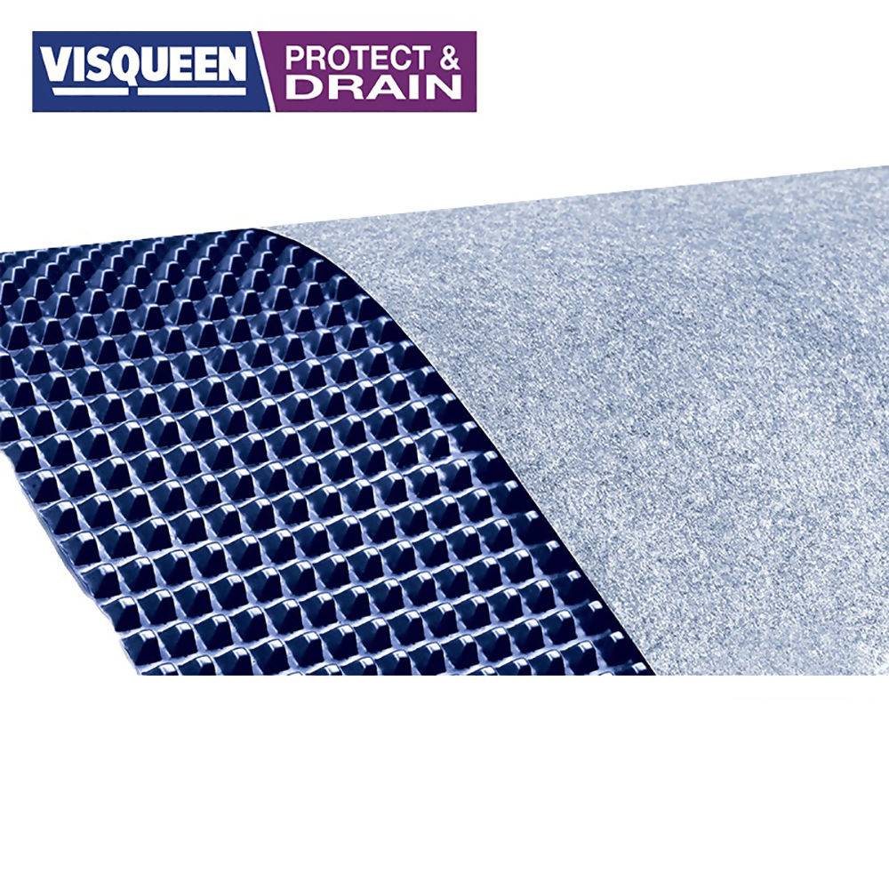 Visqueen Protectadrain 1m x 25m x 12mm Roll Ref RS060875