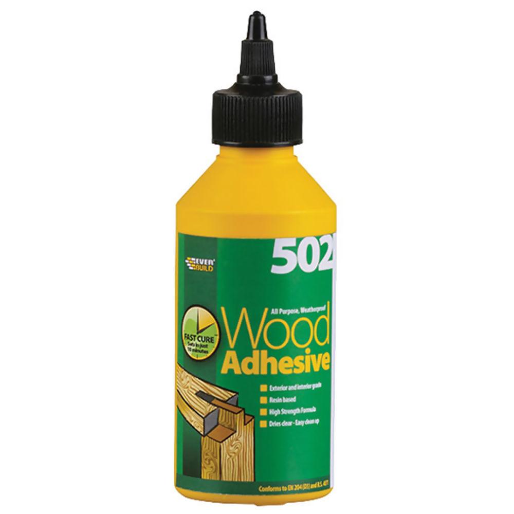 Wood Adhesive Weatherproof 250Ml Ref WOODBOT250