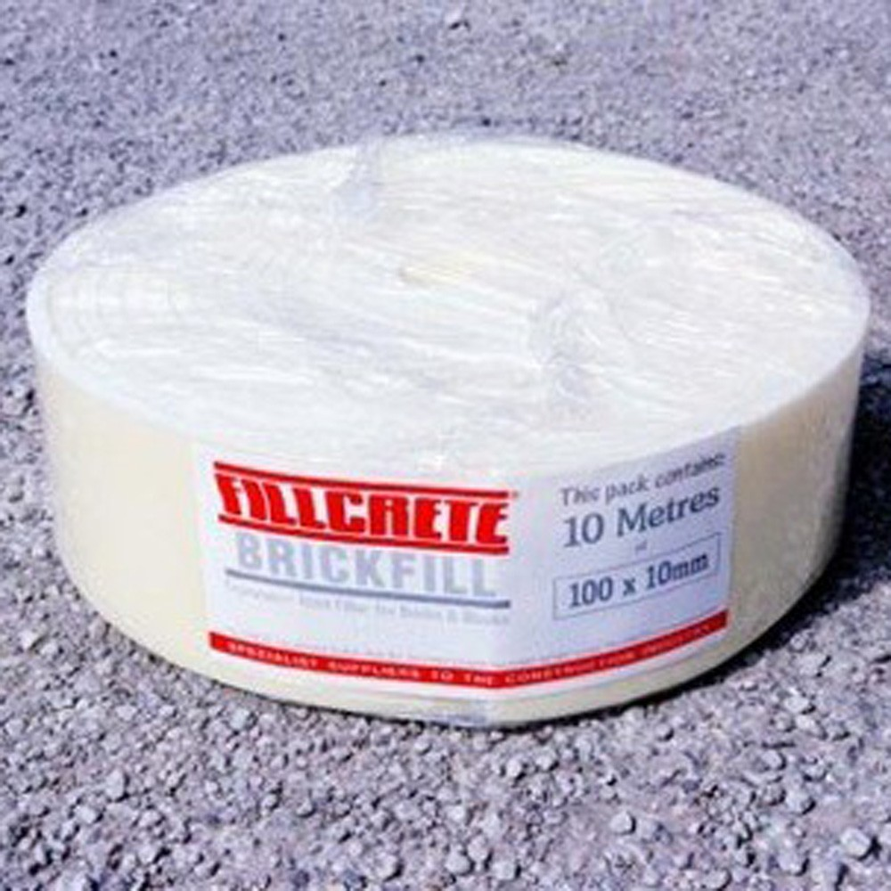 Brickfill 100mm x 10mm x 10mtr Polyethylene Foam 10BFR100P