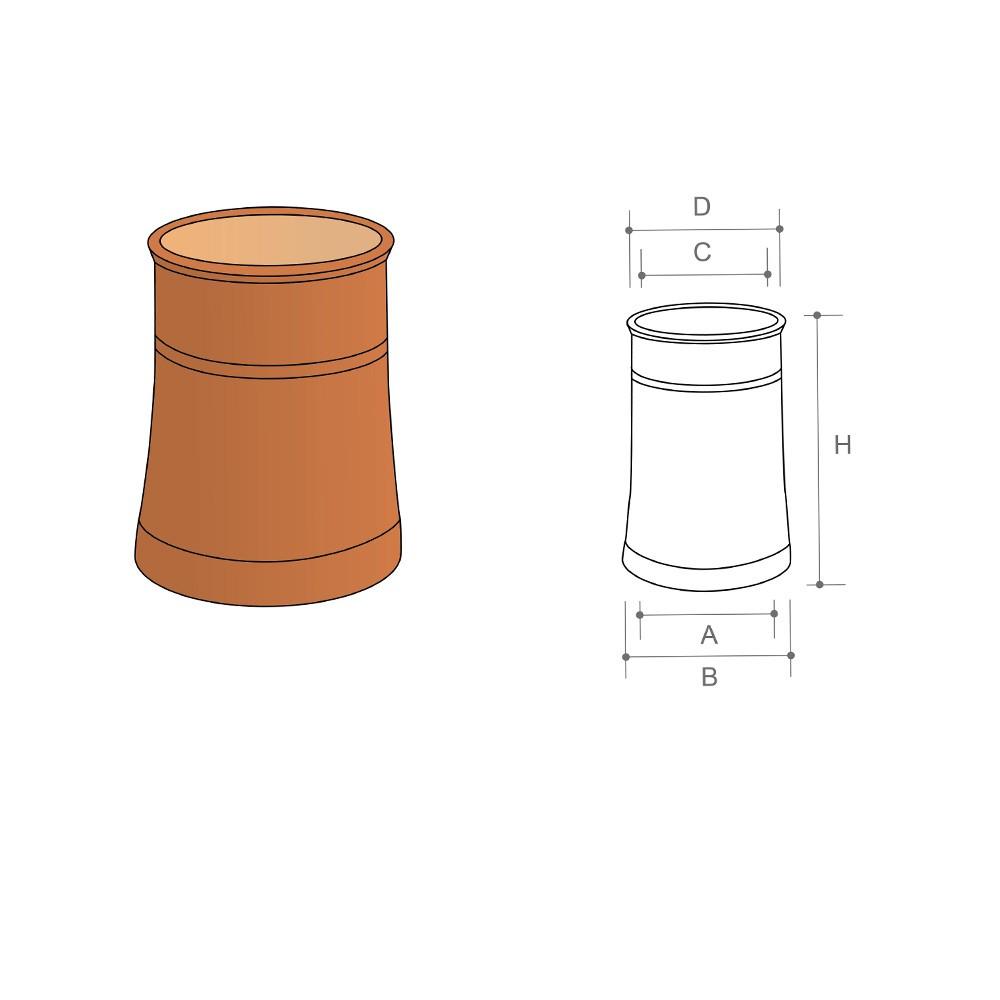 cannon-top-chimney-pot-300mm-list-no-114-1