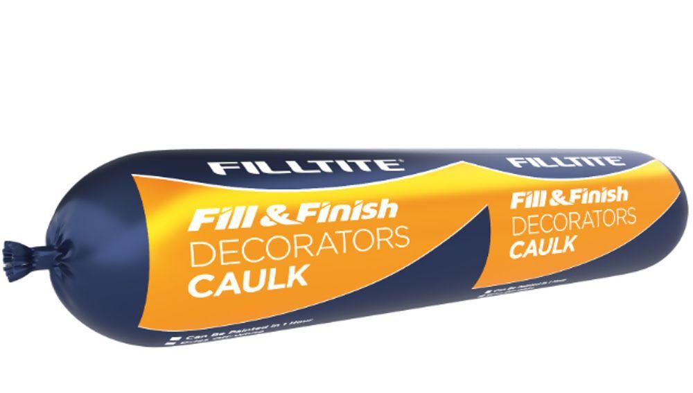 Filtite Fill And Finish Decorators Caulk 400ml Sausage Ref H18345