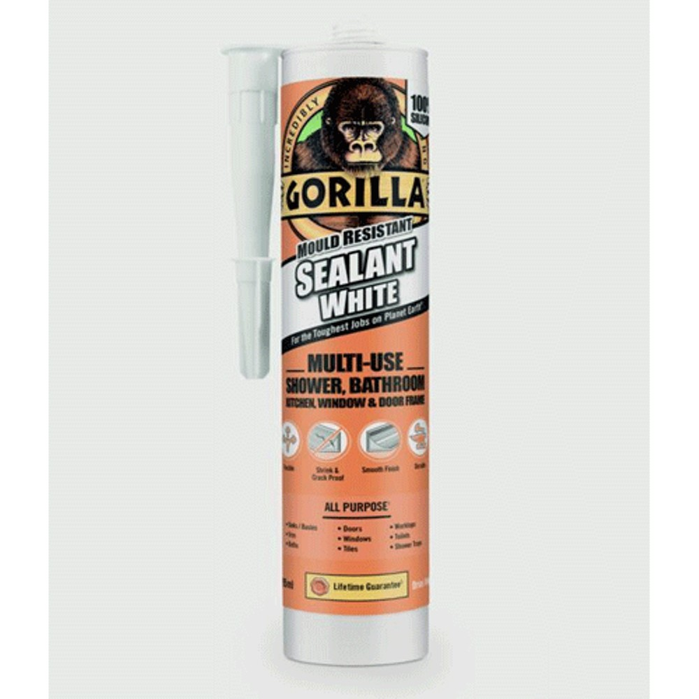 gorilla-mould-resistant-multi-use-sealant-295ml-tube-white-ref-1144001