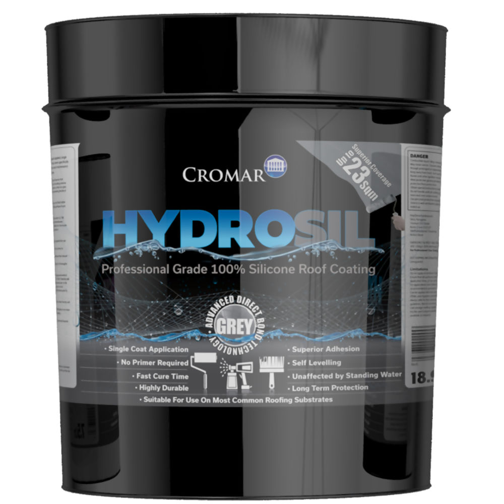 HydroSil Pro Grade Silicone Roof Coating 18-9ltr