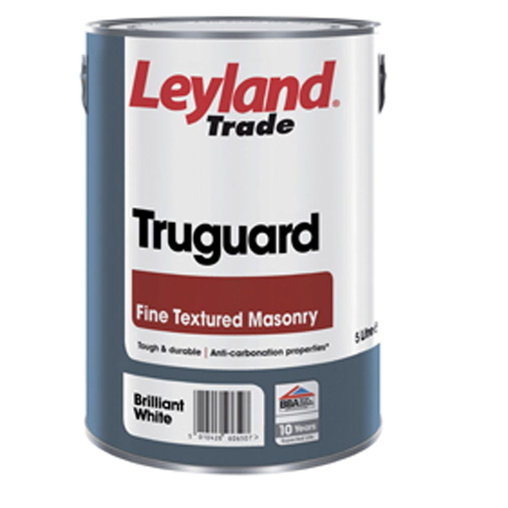 leyland-truguard-textured-masonry-brilliant-white-5ltrs-ref-264722