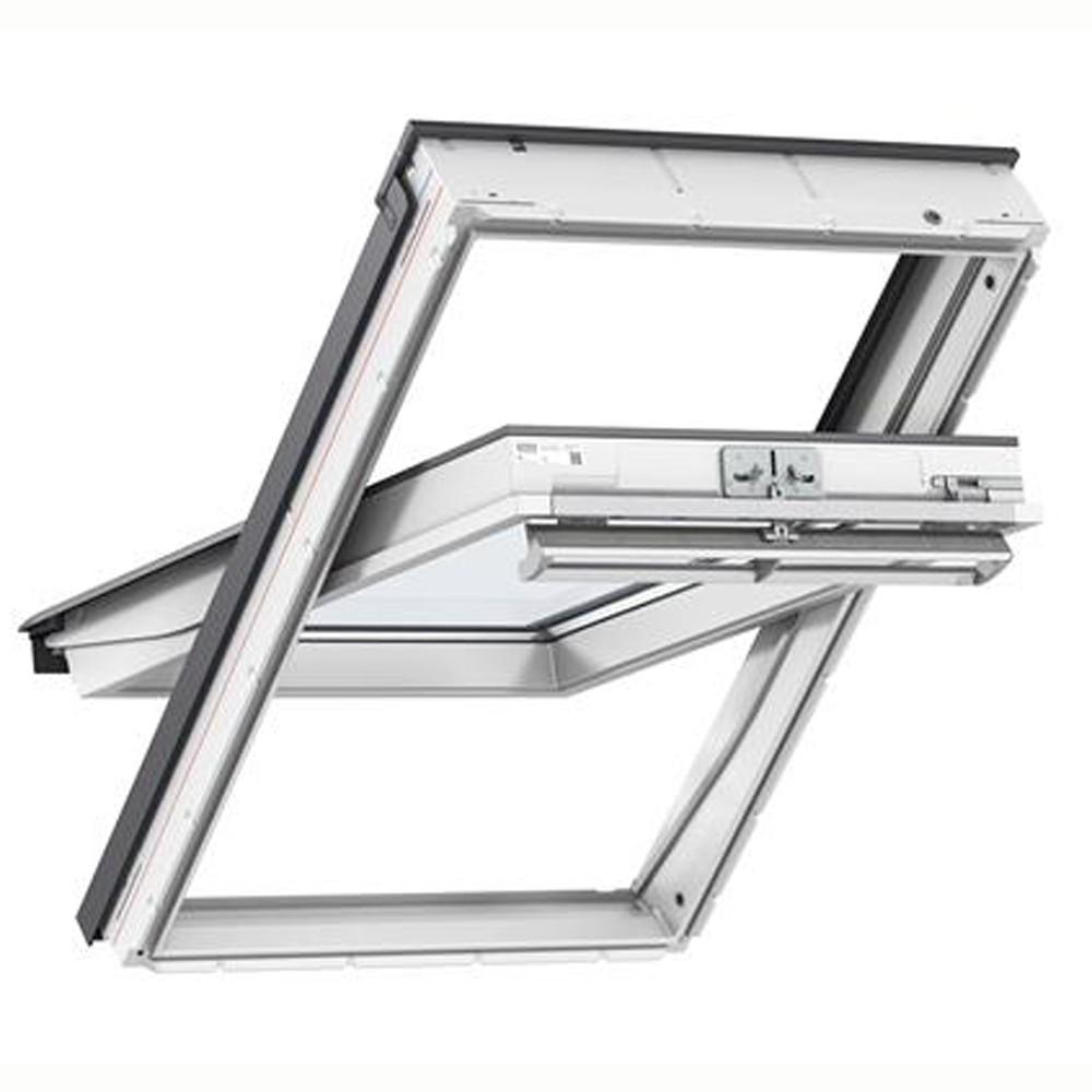 new-velux-ck06-white-painted-window-55x118cm-ref-ggl-ck06-2070