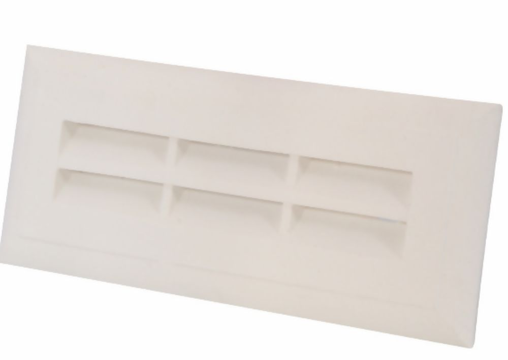 Plaster Vent 230 x 75mm With Flyscreen Ref PL93F