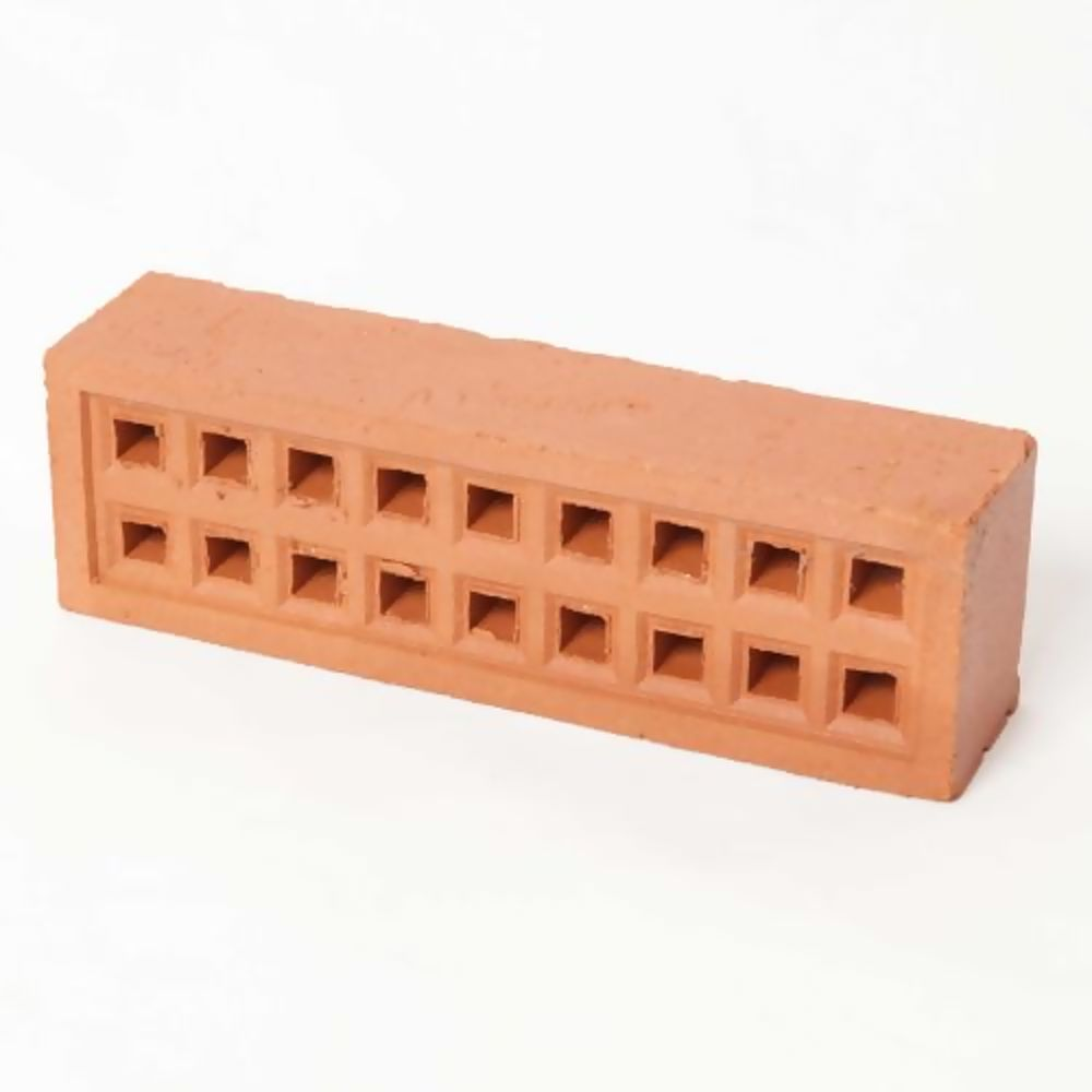 Square Hole Air Brick 215 x 65mm Red - Terracotta 350RE2207
