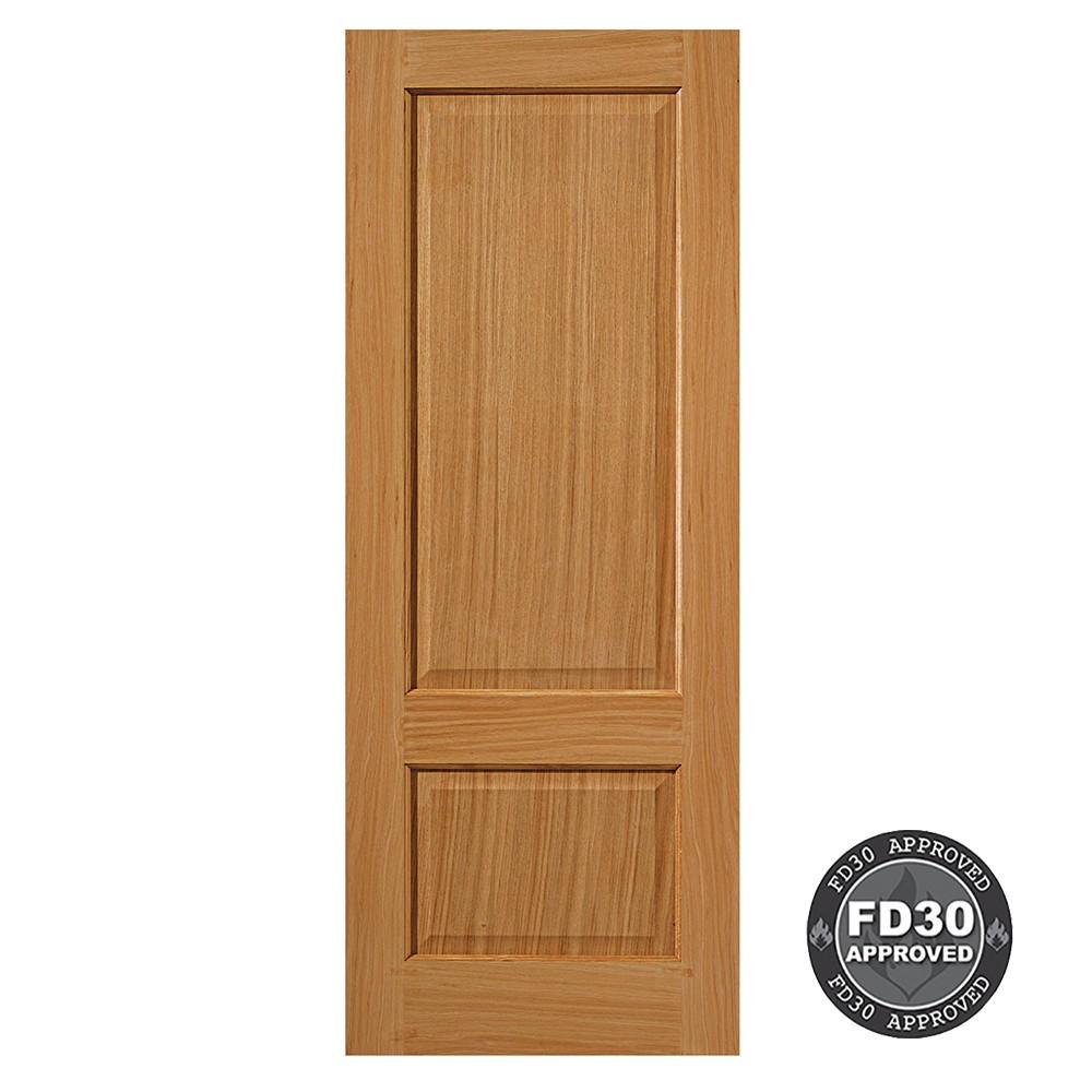 Oak Trent Door U F Fd30 44 X 1981 X 686