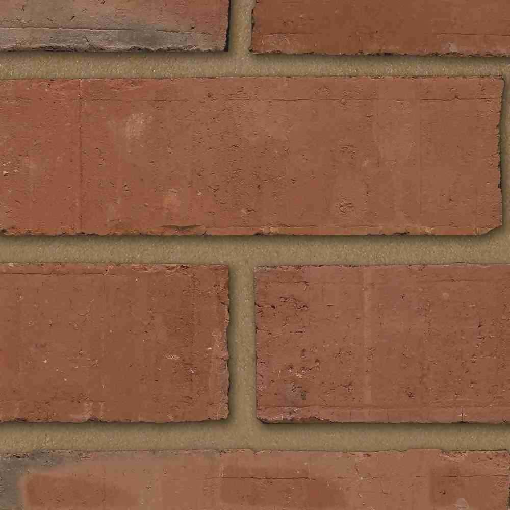 65mm Priory Red Multi Brick