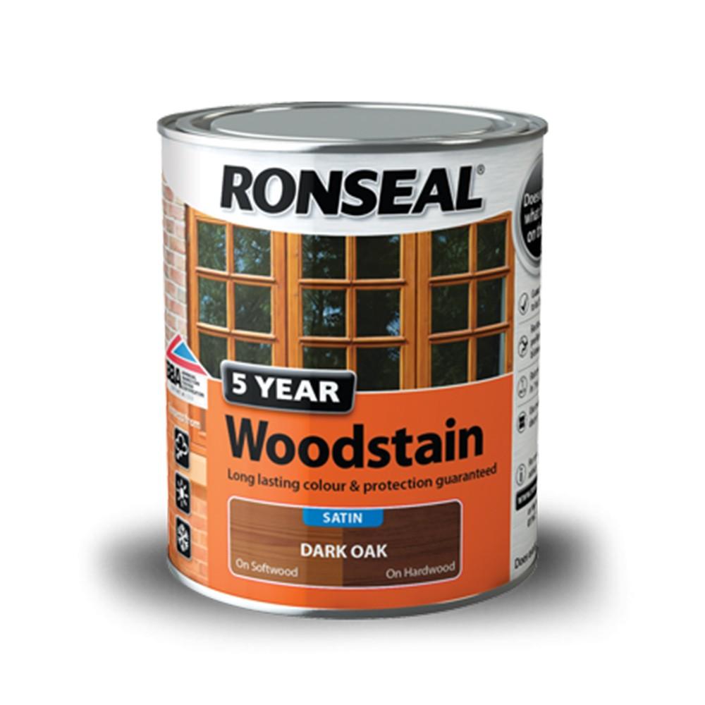 ronseal-trade-5-year-woodstain-satin-dark-oak-750ml-ref-38564