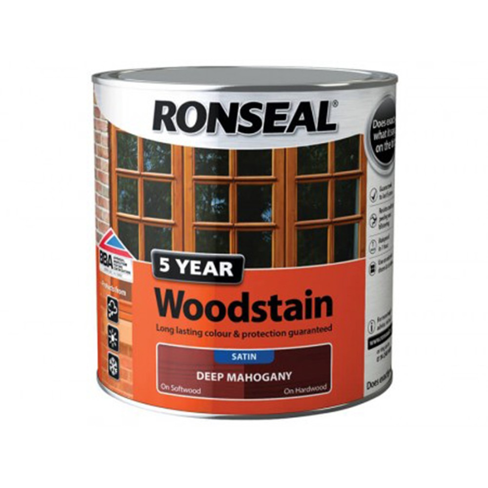 ronseal-trade-5-year-woodstain-satin-deep-mahogany-2-5ltr-ref-38571