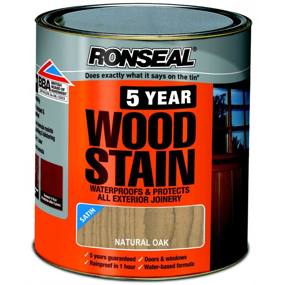 ronseal-trade-5-year-woodstain-satin-natural-oak-2-5ltr-ref-38572