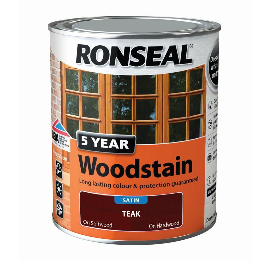 ronseal-trade-5-year-woodstain-satin-teak-2-5ltr-ref-38573