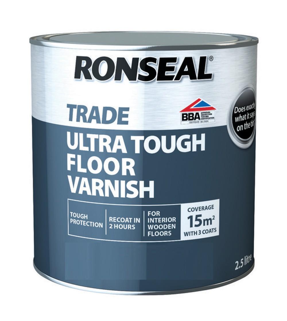ronseal-trade-ultra-tough-floor-matt-varnish-clear-2-5ltr-ref-38538