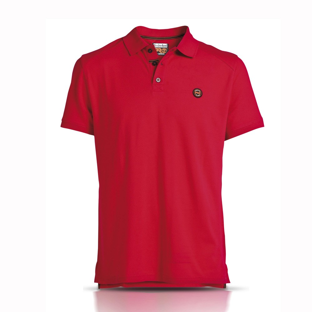 timberland-pro-353-short-sleeve-james-polo-shirt-red-xlarge-ref-4269353