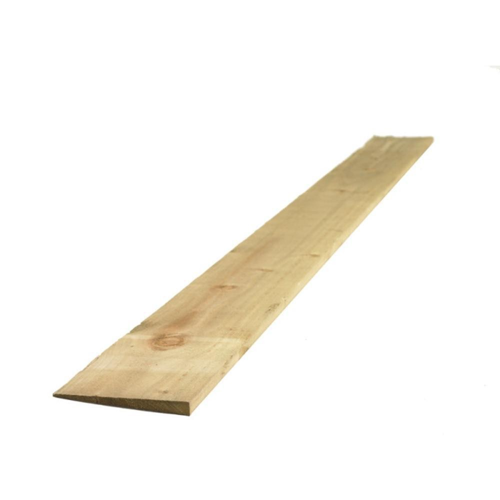 Treated Feather Edge Board 125mmx1 8Mtr Green [FSC]
