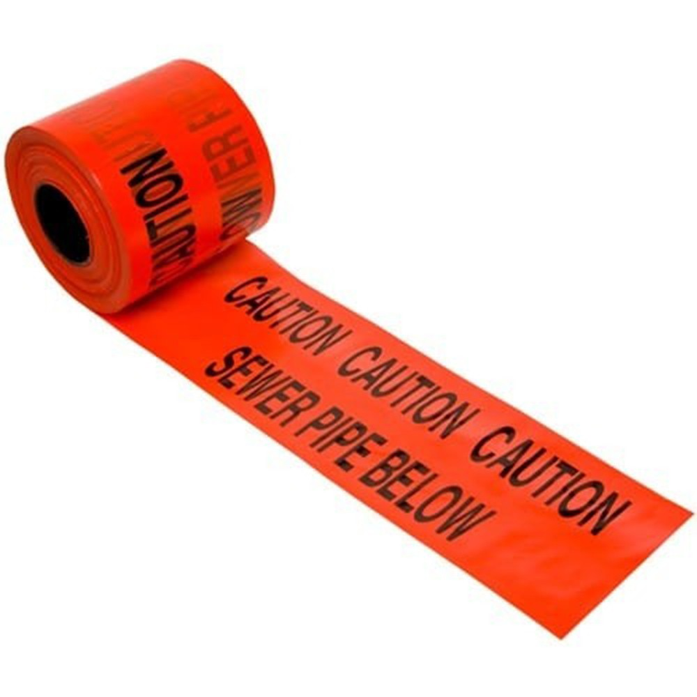 underground-sewer-warning-tape-365mtrs-x-150mm-red-ref-2undsew