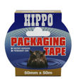 Hippo 50mm Packaging Tape 50mtr Ref H18404