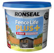 Ronseal Fence Life Plus 5ltr Charcoal Grey